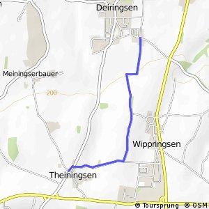 RSW (95) Soest-Deiringsen - (98) Möhnesee-Theiningsen