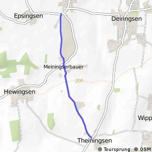RSW (94) Soest-Meiningsen - (98) Möhnesee-Theiningsen