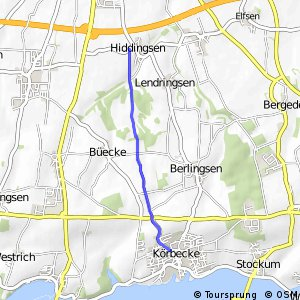 RSW (66) Möhnesee-Körbecke - (96) Soest-Hiddingsen