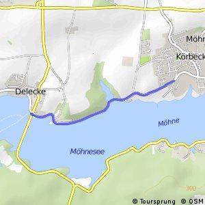 RSW (70) Möhnesee-Körbecke-Seepark - (71) Möhnesee-Delecke