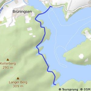 RSW (74) Möhnesee-NSG Hevearm - (75) Möhnesee-Staumauer