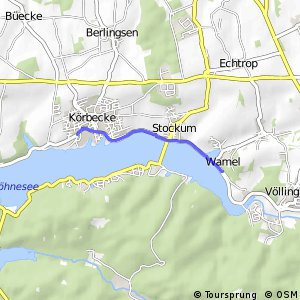 RSW (69) Möhnesee-Wamel - (70) Möhnesee-Körbecke-Seepark