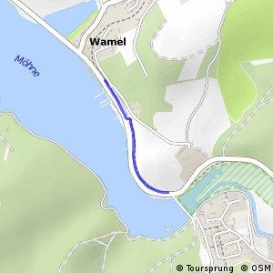 RSW (68) Möhnesee - (69) Möhnesee-Wamel