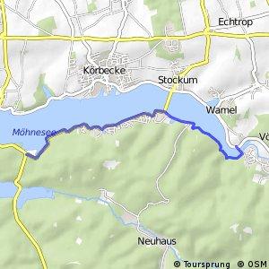 RSW (68) Möhnesee - (72) Möhnesee-Delecke