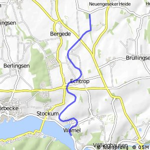 RSW (42) Bad Sassendorf-Beusingsen - (69) Möhnesee-Wamel