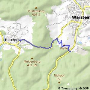 RSW (63) Warstein-Warsteiner Brauerei - (65) Warstein-Hirschberg