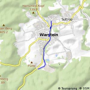 RSW (61) Warstein - (63) Warstein Warsteiner Brauerei