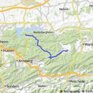 RSW (SO-65) Warstein-Hirschberg - (SO-73) Torhaus Möhnesee
