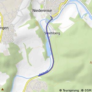 RSW (HSK-76) Arnsberg-Neheim - (SO-77) Ense-Niederense