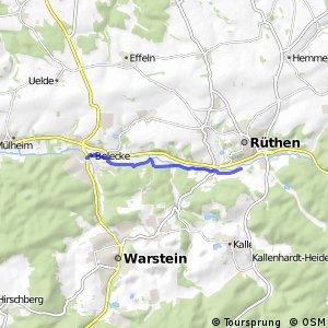 RSW (36) Warstein-Belecke - (37) Rüthen