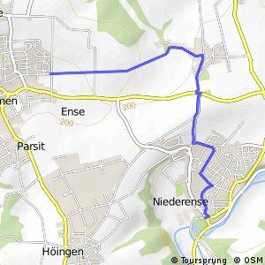 RSW (77) Ense-Niederense - (78) Ense-Bremen