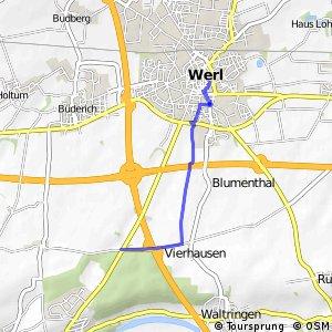 RSW (57) Werl - (81) Werl-Stadtwald