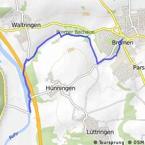 RSW (SO-79) Ense-Bremen - (SO-83) Ense-Hünningen