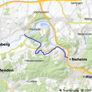 RSW (HSK-33) Arnsberg-Neheim - (SO-82) Wickede