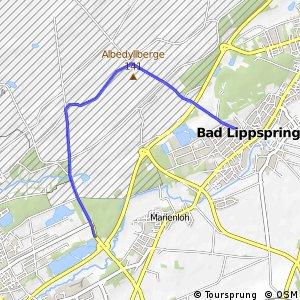 Paderborner Radrundweg PA2 - Senneschleife
