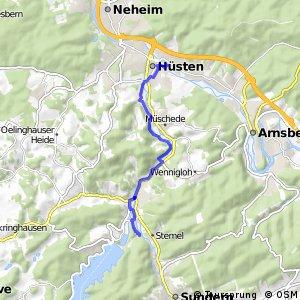RSW (HSK-36) Sundern-Stemel - (HSK-49) Arnsberg-Neheim
