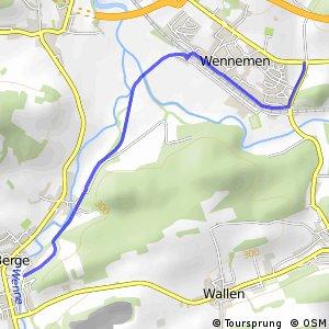 RSW (HSK-28) Meschede-Wennemen - (HSK-29) Meschede-Berge
