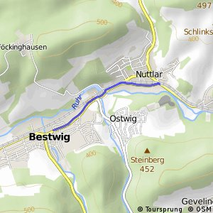 RSW (HSK-18) Bestwig-Nuttlar - (HSK-20) Bestwig