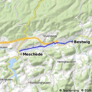 RSW (HSK-20) Bestwig - (HSK-22) Meschede