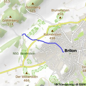 RSW (HSK-48) Brilon - (HSK-51) Brilon-Aamühlen