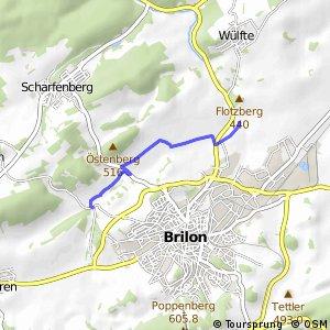 RSW (HSK-09) Brilon-Fünf Brücken - (HSK-51) Brilon-Aamühlen