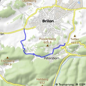 RSW (HSK-11) Brilon-Lederke - (HSK-13) Brilon-Camping/Ferienpark