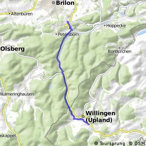 RSW (HSK-13) Brilon-Camping/Ferienpark - (xx) Willingen (Upland)
