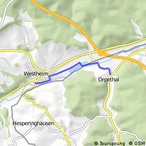RSW (HSK-01) Marsberg-Westheim - (xx) Diemelstadt-Orpethal