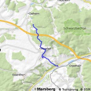 RSW (HSK-01) Marsberg-Westheim - (xx) Lichtenau-Dalheim