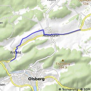 RSW (HSK-11) Brilon-Lederke - (HSK-17) Olsberg-Antfeld