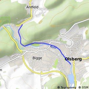 RSW (HSK-16) Olsberg - (HSK-17) Olsberg-Antfeld