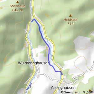 RSW (HSK-14) Olsberg-Assinghausen - (HSK-15) Olsberg-Wulmeringhausen