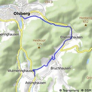RSW (HSK-14) Olsberg-Assinghausen - (HSK-16) Olsberg