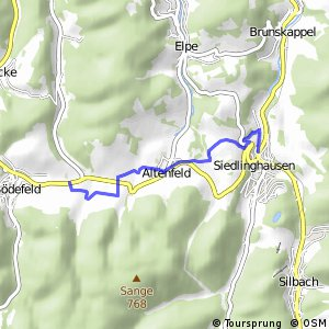 RSW (HSK-53) Schmallenberg-Westfeld - (HSK-54) Winterberg-Siedlinghausen