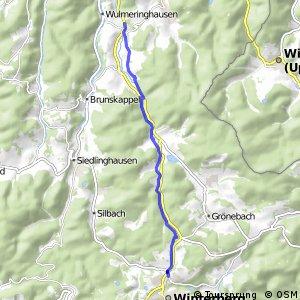 RSW (HSK-14) Olsberg-Assinghausen - (HSK-55) Winterberg