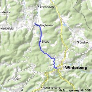 RSW (HSK-54) Winterberg-Siedlinghausen - (HSK-57) Winterberg