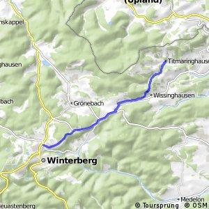RSW (HSK-55) Winterberg - (HSK-69) Medebach-Titmaringhausen