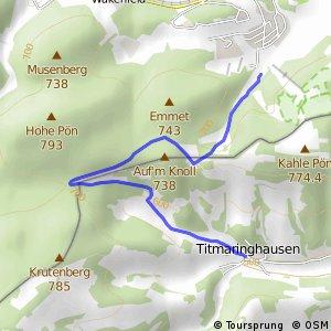 RSW (HSK-69) Medebach-Titmaringhausen - (xx) Willingen-Usseln