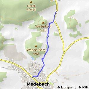 RSW (HSK-66) Medebach - (HSK-67) Medebach-Langeln