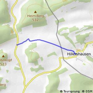 RSW (HSK-67) Medebach-Langeln - (xx) Korbach-Hillershausen