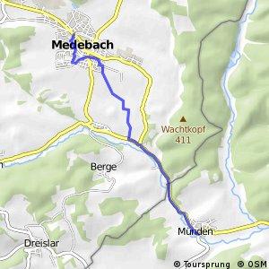 RSW (HSK-66) Medebach - (xx) Lichtenfels-Münden