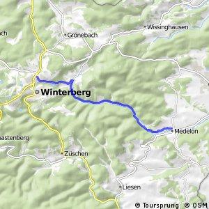 RSW (HSK-55) Winterberg - (HSK-65) Medebach-Medelon