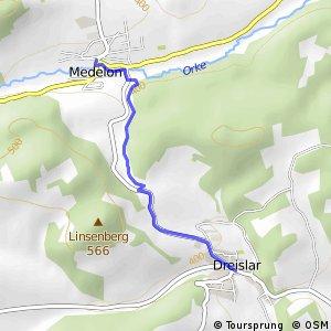 RSW (HSK-64) Medebach-Dreislar - (HSK-65) Medebach-Medelon