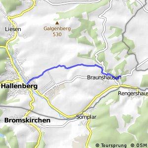 RSW (HSK-61) Hallenberg - (HSK-62) Hallenberg-Braunshausen