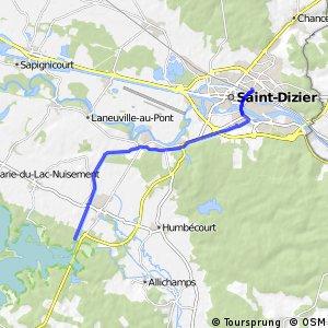 Voie Verte du lac du Der et de Saint-Dizier (Accès St-Dizier)