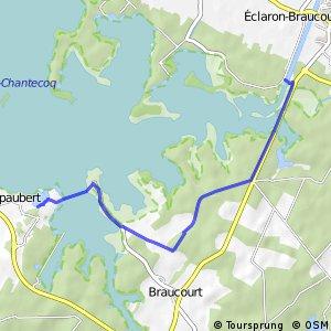 Voie Verte du lac du Der et de Saint-Dizier (Partie Est)