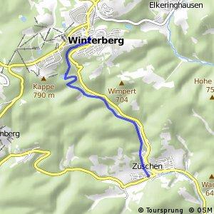 RSW (HSK-56) Winterberg - (HSK-58) Winterberg-Züschen