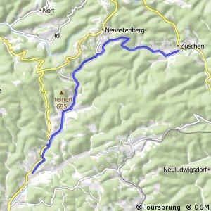 RSW (SI-06) Bad Berleburg-Wemlighausen - (HSK-58) Winterberg-Züschen