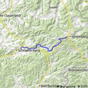 RSW (HSK-47) Schmallenberg-Ohlenbach - (HSK-57) Winterberg