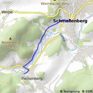 RSW (HSK-50) Schmallenberg - (HSK-52) Schmallenberg-Fleckenberg